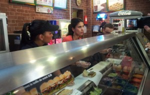 Subway selon Farida