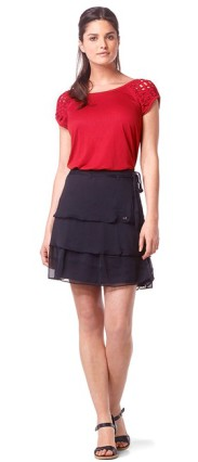 DDP-ensemble-jupe-top-rouge