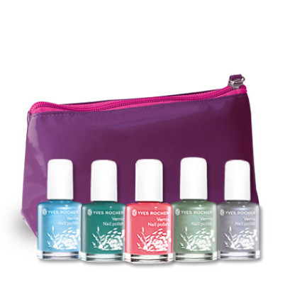 assortiment de vernis yves rocher