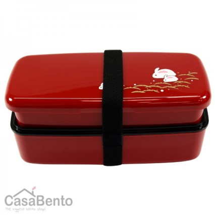 Bento lunch-box-usagi-rouge